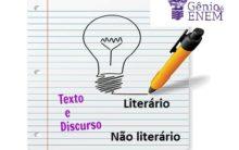 Texto literário e não literário – Conceito, característica e exemplos