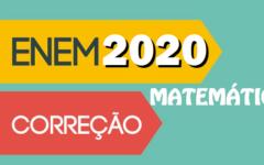 Resolução Matemática ENEM 2020
